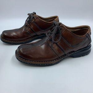 Clarks Mens 8.5 Shoes Touareg Vibe Comfort Lace Up